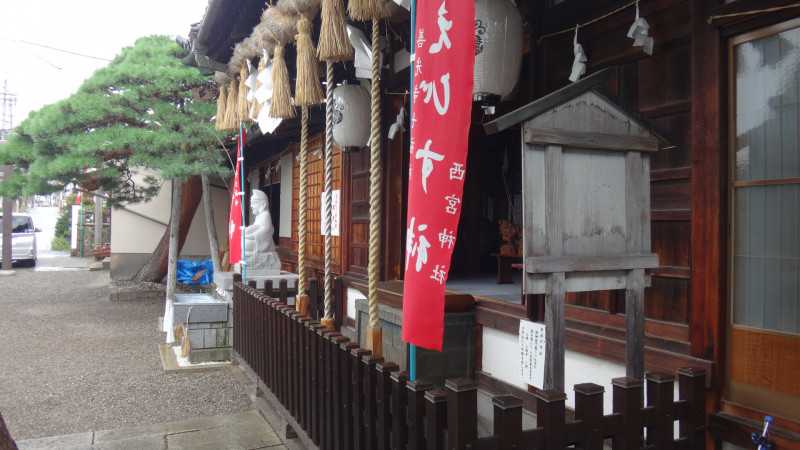 毎年恒例、夏季神社参拝学習会@長野 まずは西宮神社!