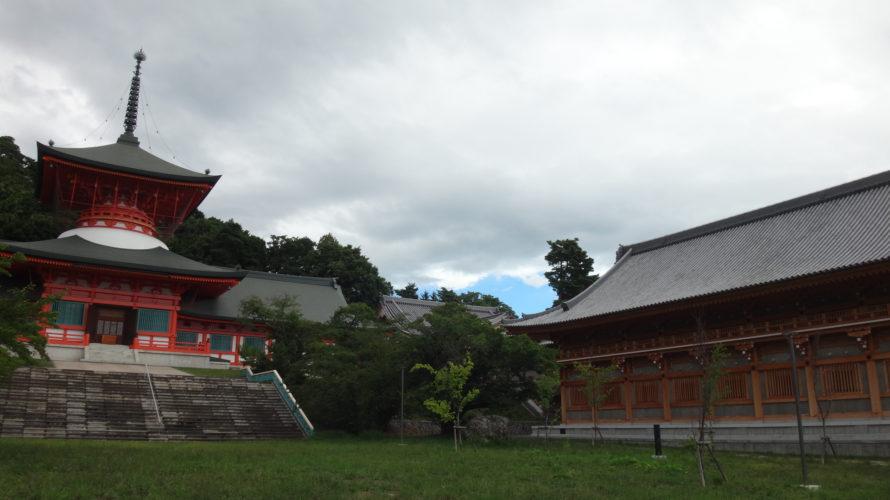 長野での参拝会2日目は善光寺雲上殿から